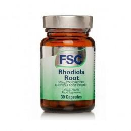 Rhodiola Root 30 Cápsulas FSC