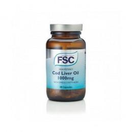 Cod Liver Oil 1000mg 60 cápsulas FSC