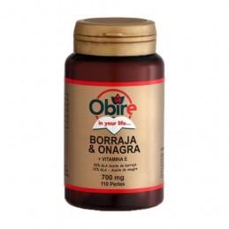 Obire Borragem e Onagra 700 mg 110 cápsulas