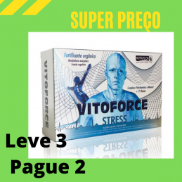 Vitoforce Stress 30 ampolas de 10ml Leve 3 Pague 2
