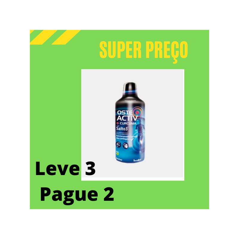 Osteoactiv + Curcuma 1000ml Leve 3 Pague 2