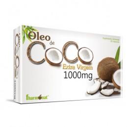 Oleo de Coco Extra Virgem 30 Cap Fharmonat