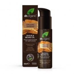 Dr. Organic Homem Ginseng Oleo cuidar Barba 50 ml